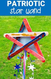 patriotic star wand the kindergarten connection
