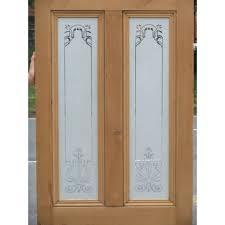 Sandblasting Kitchen Cabinet Doors Sandblasted Wood Doors U0026 Sand Blasted Swinging Shower Door
