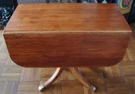 Drop Leaf Pedestal Table Fascinating Pedestal Dining Table With Leaf Dans Design Magz