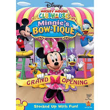 minnie s bowtique mickey mouse clubhouse minnie s bow tique frame walmart