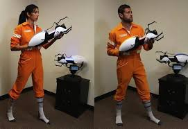 portal jumpsuit own an authentic portal 2 jumpsuit to complete your chell