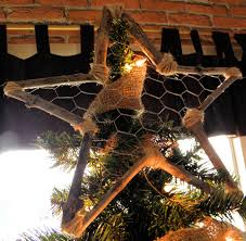 Diy Christmas Tree Topper Ideas Country Rustic Tree Topper Ideas Design Ideas And Decor