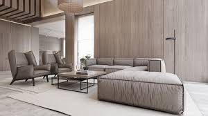 2 luxury homes with beige focused interior design 2