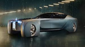 the rolls the rolls royce vision next 100 is a beautiful cartoon of a