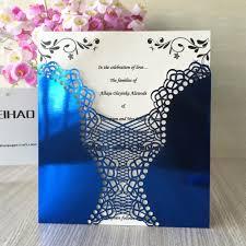 Royal Wedding Invitation Card Online Buy Wholesale Royal Blue Wedding Invitations From China