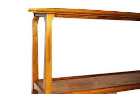 mid century modern sofa table mid century modern danish style console table