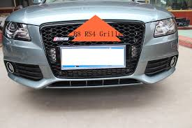 audi rs4 grille a4 b8 rs4 grille for audi a4 rs4 mesh grill front bumper grille