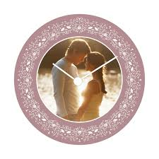 Personalized Clocks With Pictures Personalized Wall Clocks With Pictures Photo Collage