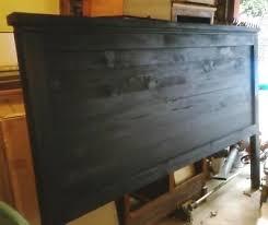Wood King Headboard Best 25 Diy King Headboard Ideas On Pinterest King Size Bed