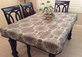 elastic vinyl table covers impressive 1000 ideas about fitted vinyl tablecloths for rectangular