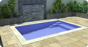 small swimming pools for the limited space backyard