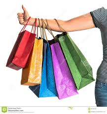 woman u0027s hand holding shopping bags royalty free stock photo