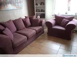 canapé couleur aubergine canapé fauteuil tissu aubergine a vendre 2ememain be