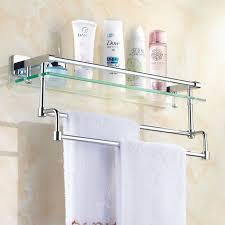 10 best fabulous glass shelves for bathroom images on pinterest