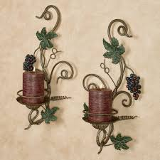 Metal Vases For Centerpieces by Grapes And Wine Home Decor Touch Of Class