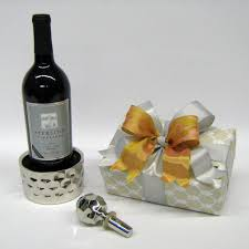 wine set gifts lhuillier for royal doulton wine coaster stopper set
