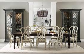 hooker furniture dining room auberose rect leg dining table w 2