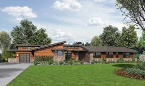 Contemporary Ranch House by Stunning Contemporary Ranch Home Plan 69510am Architectural