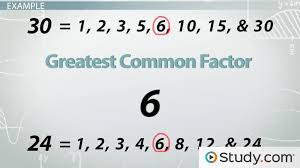 word problems greatest common factor u0026 least common multiple