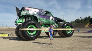 videos monster trucks little boy loves monster trucks youtube