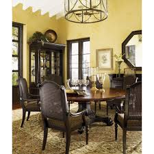 Two Tone Dining Room by Tommy Bahama 621 870c Kingstown Bonaire Round Dining Table In
