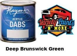 haymes dabs acrylic paint deep brunswick green 250ml