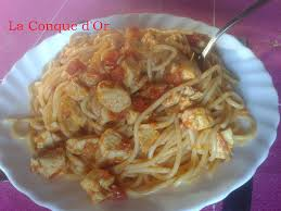 cuisiner l espadon spaghettis à l espadon la conque d or