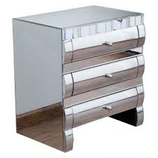 Small Mirrored Nightstand Bedroom 3 Drawer Mirrored Nightstand Cheap For Remarkable Bedroom