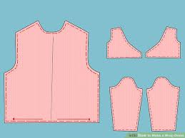 how to make a wrap dress with pictures wikihow