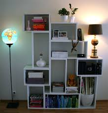 Bookcase With Books Bookcase Contemporary Bookcase Living Room Modern Shelves