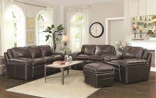 coaster leather sofa sets ebay