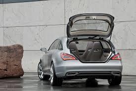 mercedes benz shooting break concept car provides hint of next cls