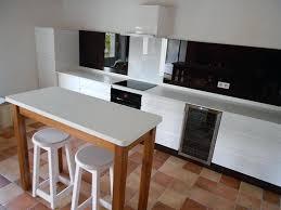 cuisine schmidt lannion credence blanche cuisine cuisine blanche et bois cuisine blanche et