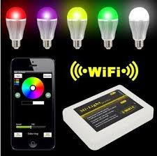 how to configure rgbw led bulbs controlled by iphone android