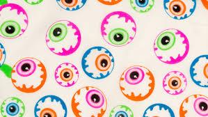 eyeballs halloween knot wraps lush cosmetics nz