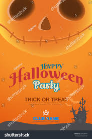 Halloween Poster Template Label Book Ad Stock Vector 304054940