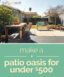 Ideas For Backyard Patio by Decorating Ideas For Under 500 Thegoodstuff