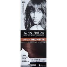 john frieda precision foam colour brilliant brunette 4bg dark
