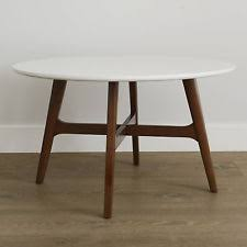 mid century modern round dining table mid century modern white top solid wood frame round dining table