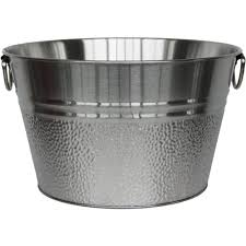 Oval Party Beverage Tub by Stainless Steel Beverage Tub Walmart Com