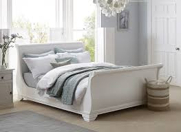 Wooden White Bed Frames Orleans White Wooden Bed Frame Dreams