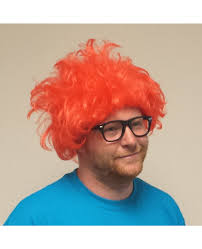 Chuckie Rugrats Halloween Costume Chuckie Finster Wig