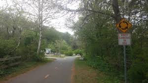 running the cape cod rail trail onbalance