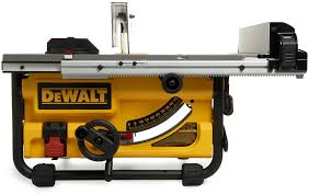 dewalt jobsite table saw accessories dewalt dw745 10 inch compact job site table saw review