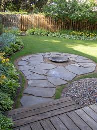 Backyard Flagstone Creative Fire Pit Designs And Diy Options