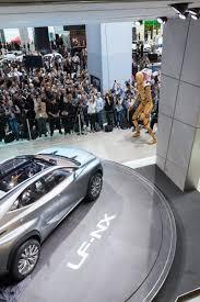 lexus lf sedan lexus sharpens up frankfurt motor show with lf nx crossover