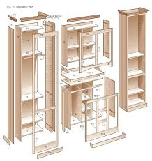 plans for building kitchen cabinets rustic kitchen pantry cabinet evropazamlade me