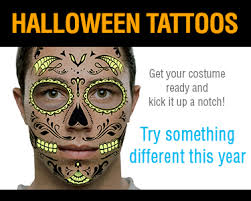 temporary tattoos the perfect halloween costume accessory