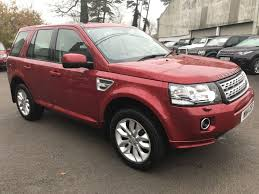 land rover red used red land rover freelander for sale gloucestershire