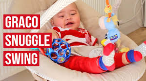 Argos Baby Swing Chair Graco Snuggle Swing Benny And Bell Baby Swing Seat Youtube